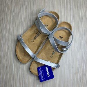 Birkenstock Metallic Daloa Ankle Strap Sandals